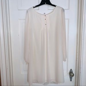 Xhilaration Cream Sheath Dress. Size XL